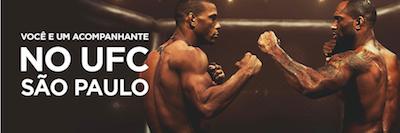 UFC luta mma ingressos gratis