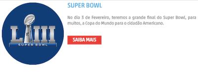 Apostas online promoção super bowl apostar nfl com bonus