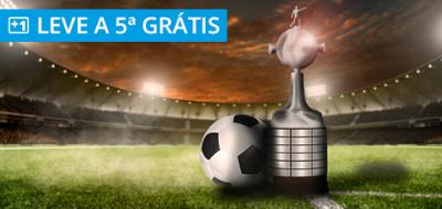 promoção bonus taca libertadores brasil aposta gratis