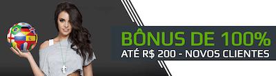 bônus de 100% netbet R$ 200 novos clientes