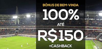 Bonus boas-vindas 100% PWR Bet até R$ 150