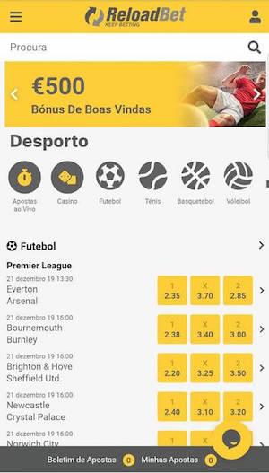Reloadbet Mobile App Apk Bonus