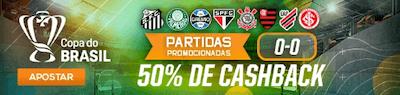PArtidas promocionais copa do brasil 50% cashback betmotion