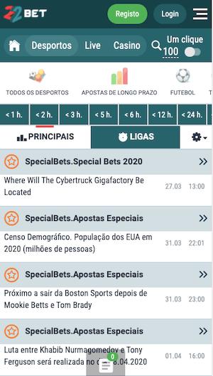 especial bets 22bet apostas longo prazo