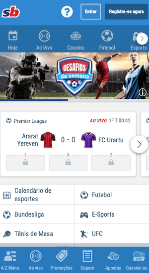 versão móvel app sportingbet apk