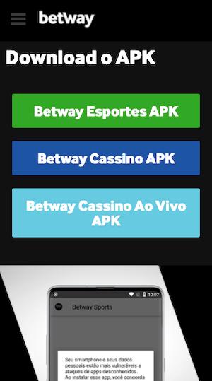 app betway apk aposta móvel esportes