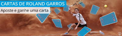 apostar em tenis promoção odds altas french open