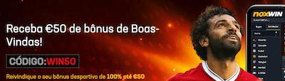 bonus noxwin 50€ boas-vindas