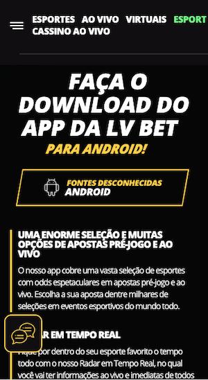 download do apk lvbet app