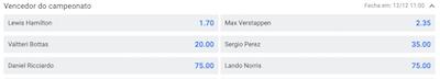 corrida formula 1 apostas online mercedes red bull