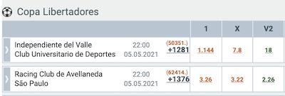 racing sao paulo libertadores apostas online melbet jogos
